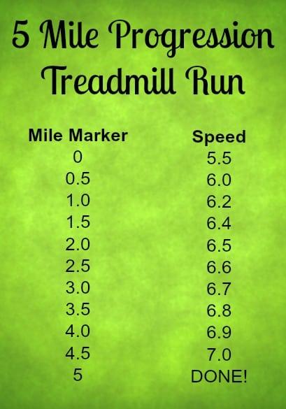 progression treadmill