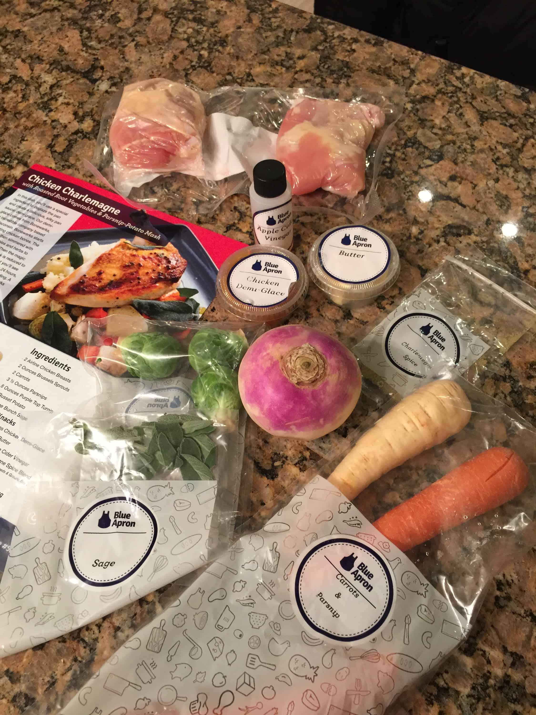 Blue apron referral - A Turnip