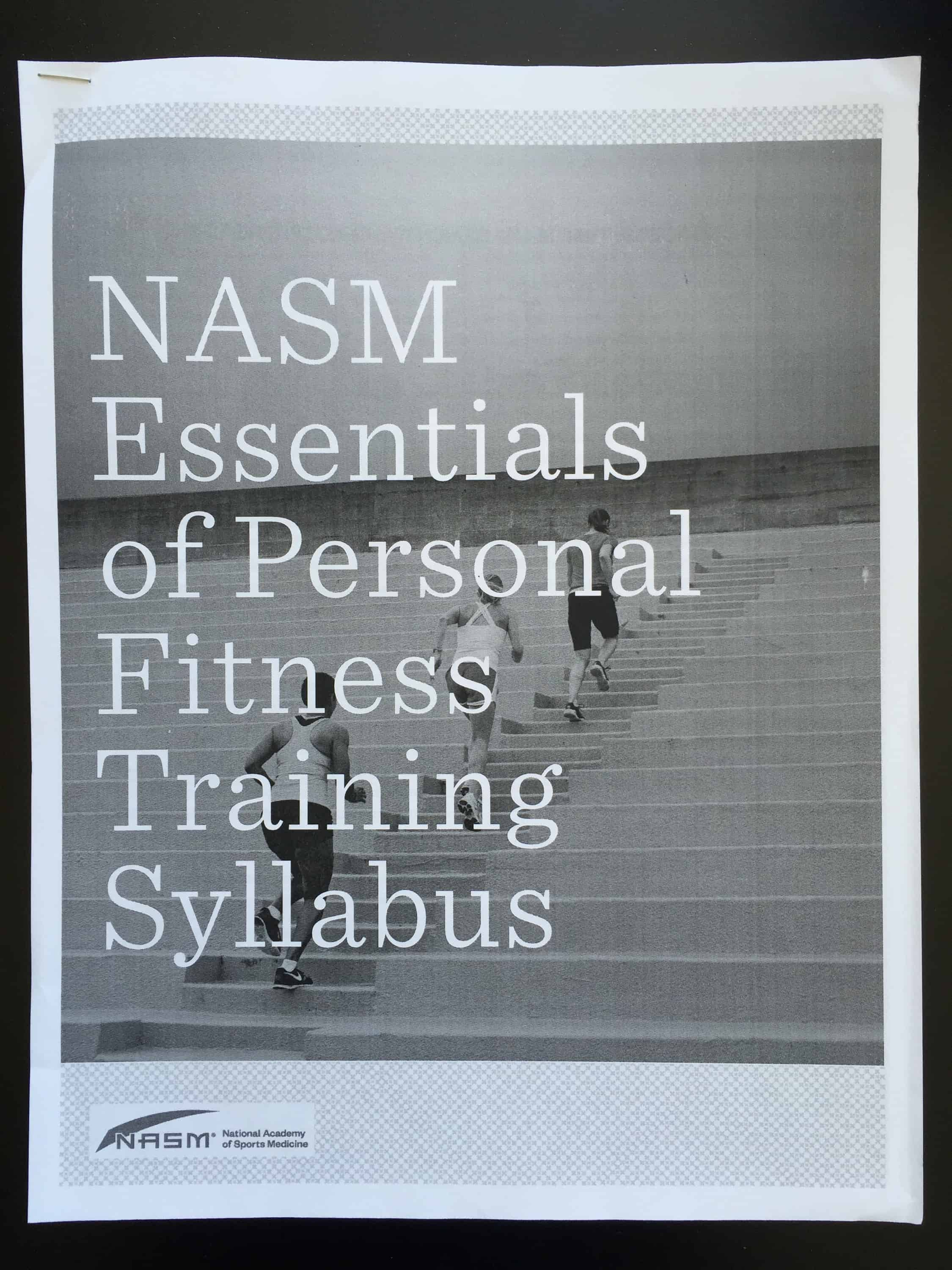 Passing the nasm certified personal training exam erins inside job img2733g xflitez Gallery