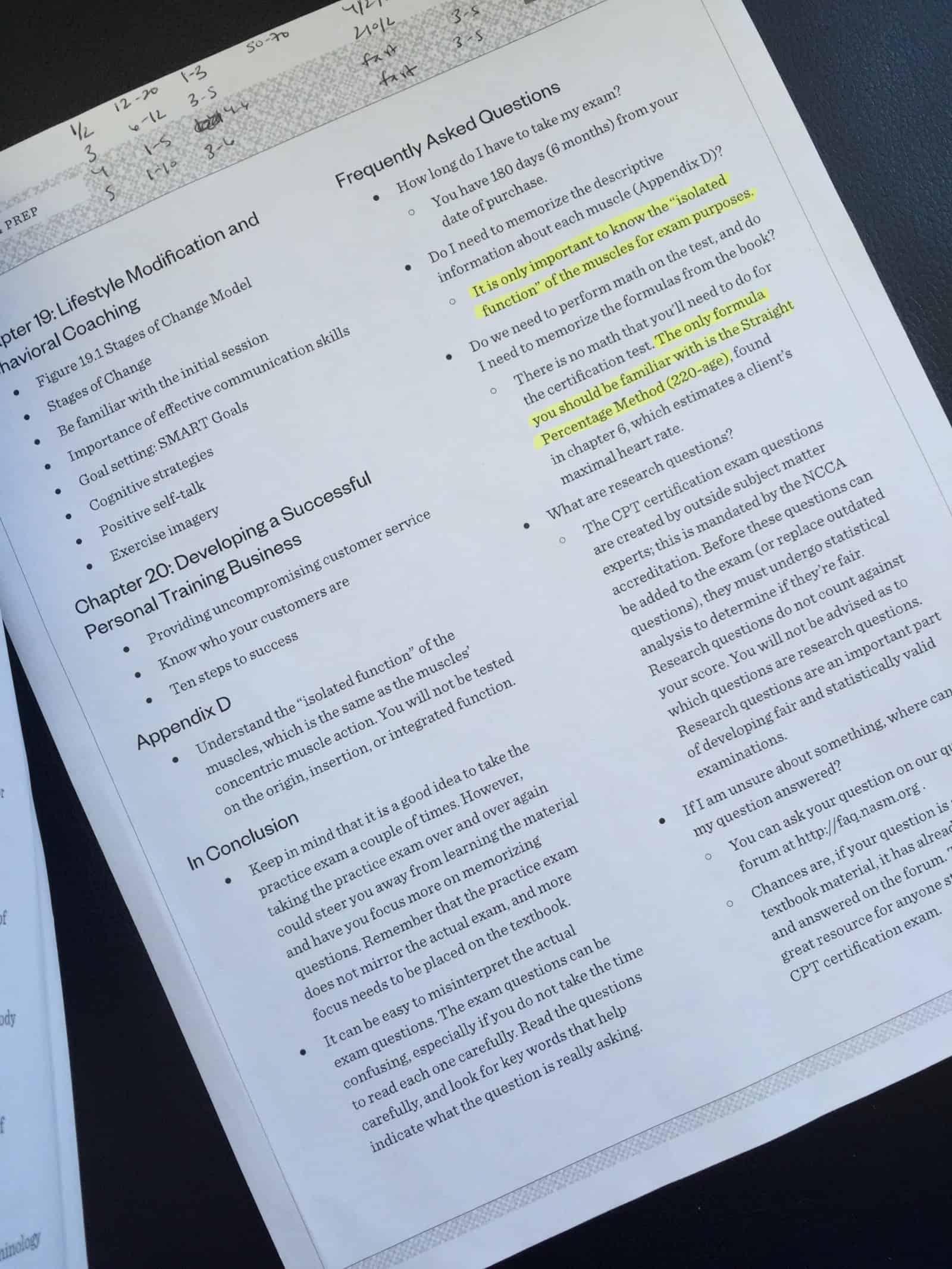 NASM Study Guide