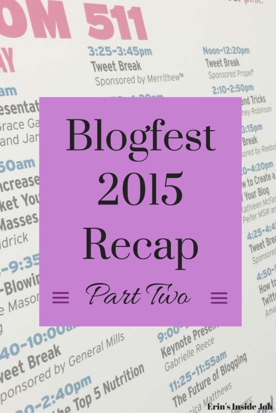 Blogfest 2015 Recap Part Two