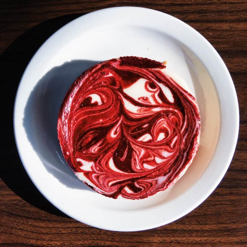 twisted baker red velvet cheesecake