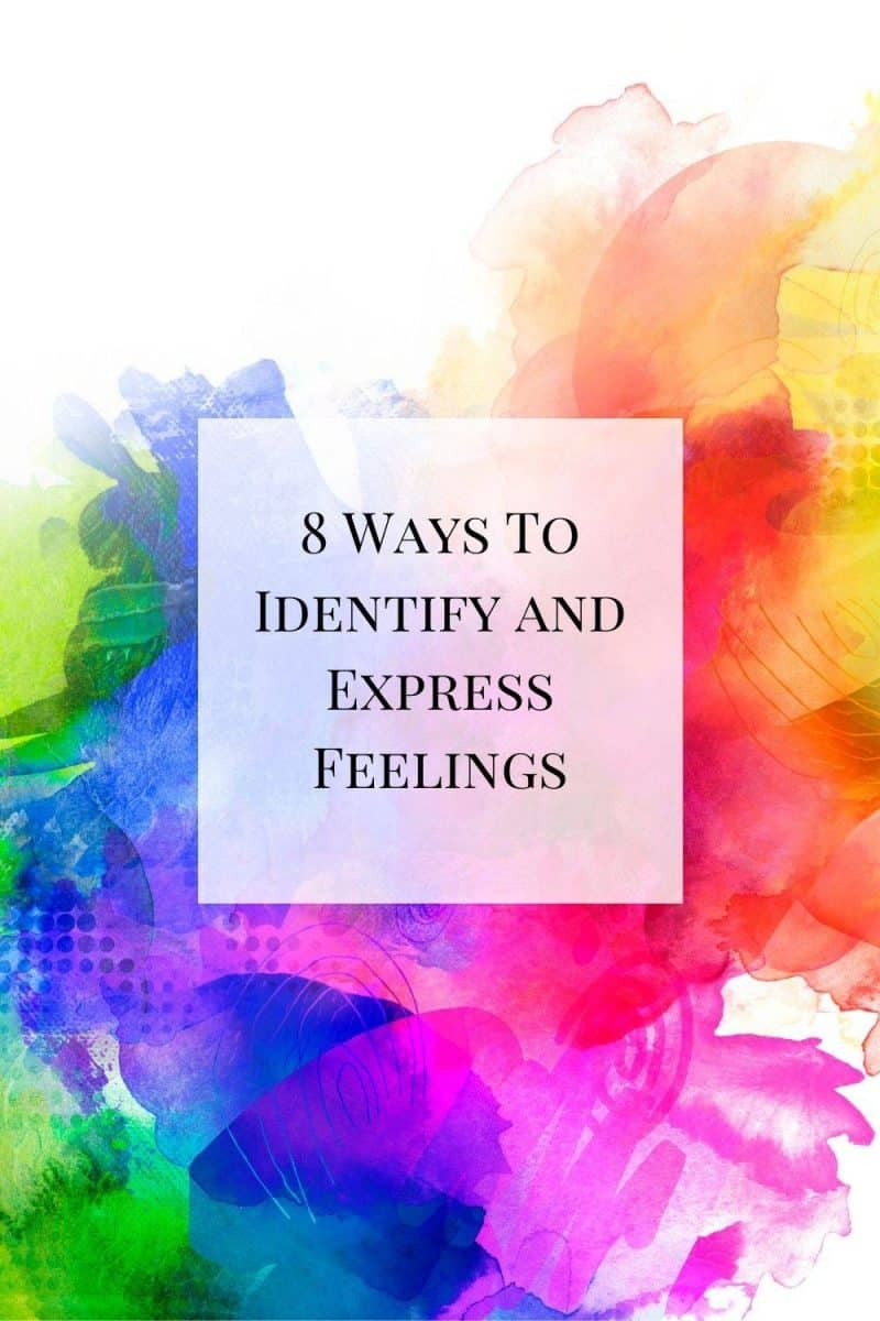 A look at different ways to identify and express feelings. It can be more difficult than  you think, so this post helps break down some easy ways to do so!