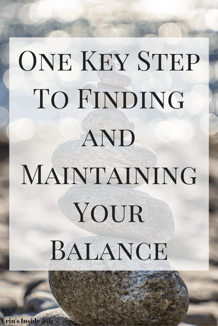 There's one important step in finding and maintaining your own personal balance and that's to learn how to plan. See some of my tips for getting the most out of your time!