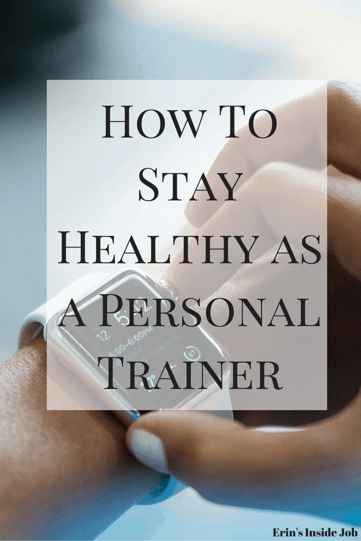Your own health is just as important as your client's. Make sure you know how to stay healthy as a personal trainer!