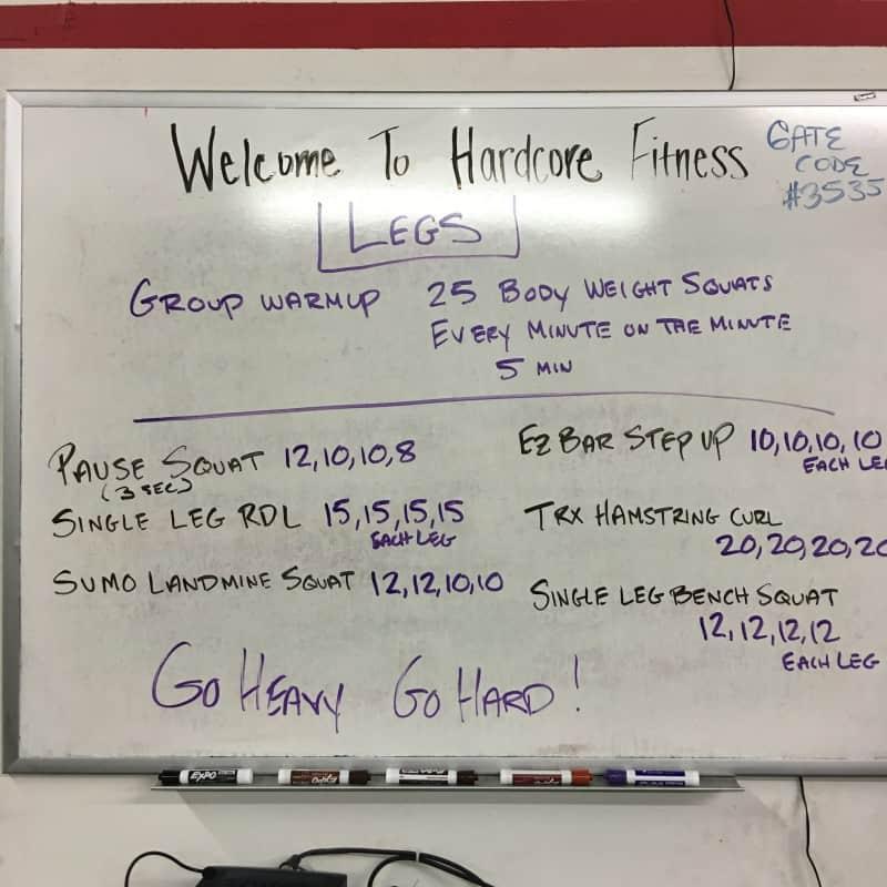 Hardcore fitness 2