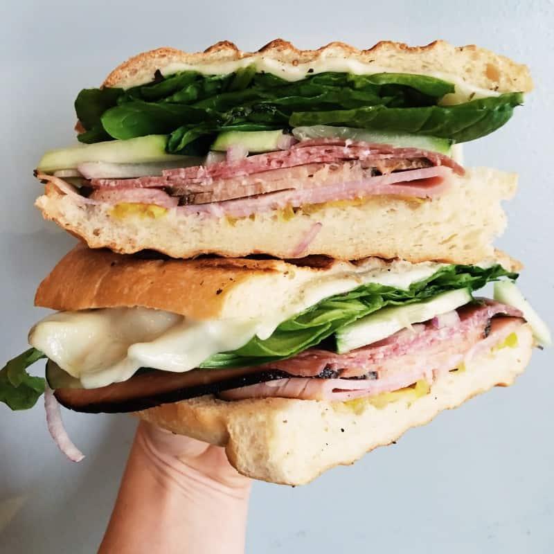 Spoken Cafe Sandwich Ravenswood
