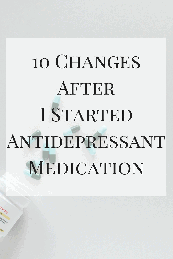 My experience over the last 8 months. See my 10 changes after I started antidepressant medication and how it's been crucial in improving my mental health and outlook.