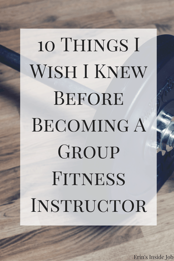 As much as I love my job, there are still some things I wish I knew before becoming a group fitness instructor. Make sure to fully understand all the components of the job before deciding to take the plunge!