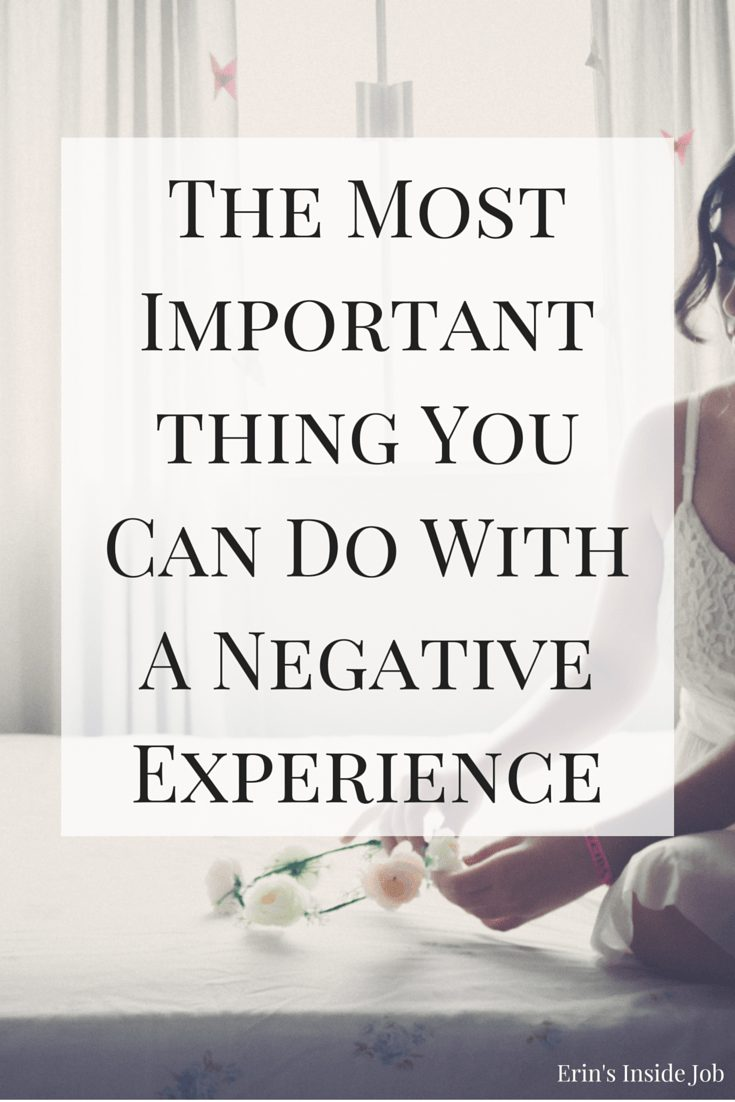 Wondering what the point of life's negative experiences is? Learn about giving back to others, what I think is the most important thing you can do with these experiences.