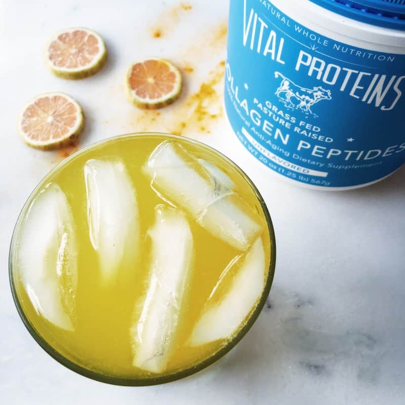 Turmeric Honey Lemonade Vital Proteins