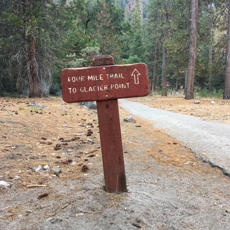 Four Mile trail Yosemite