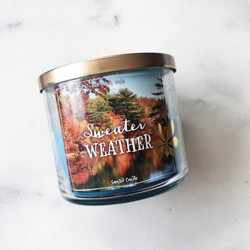 Sweater Weather Bath and Body Works