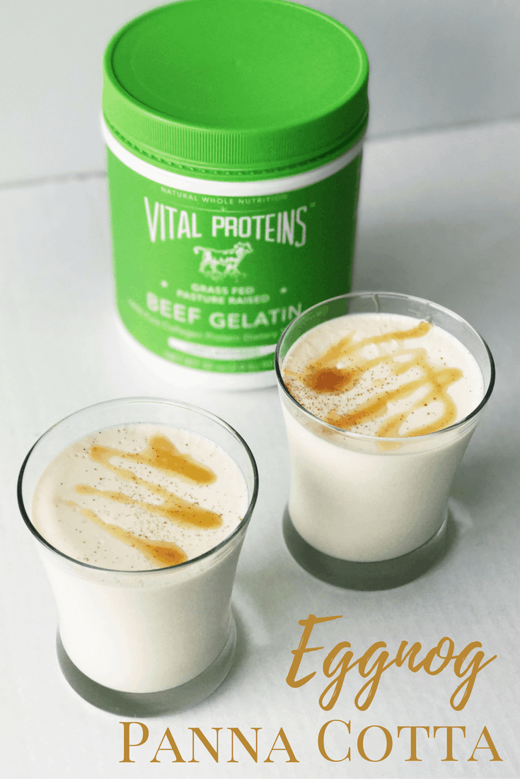 This eggnog panna cotta literally takes less than 10 min and it a quick, delicious treat for any occasion. Recipe options also involve non-dairy options as well!