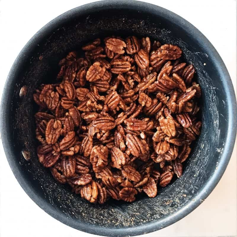 Maple Spiced Pecans