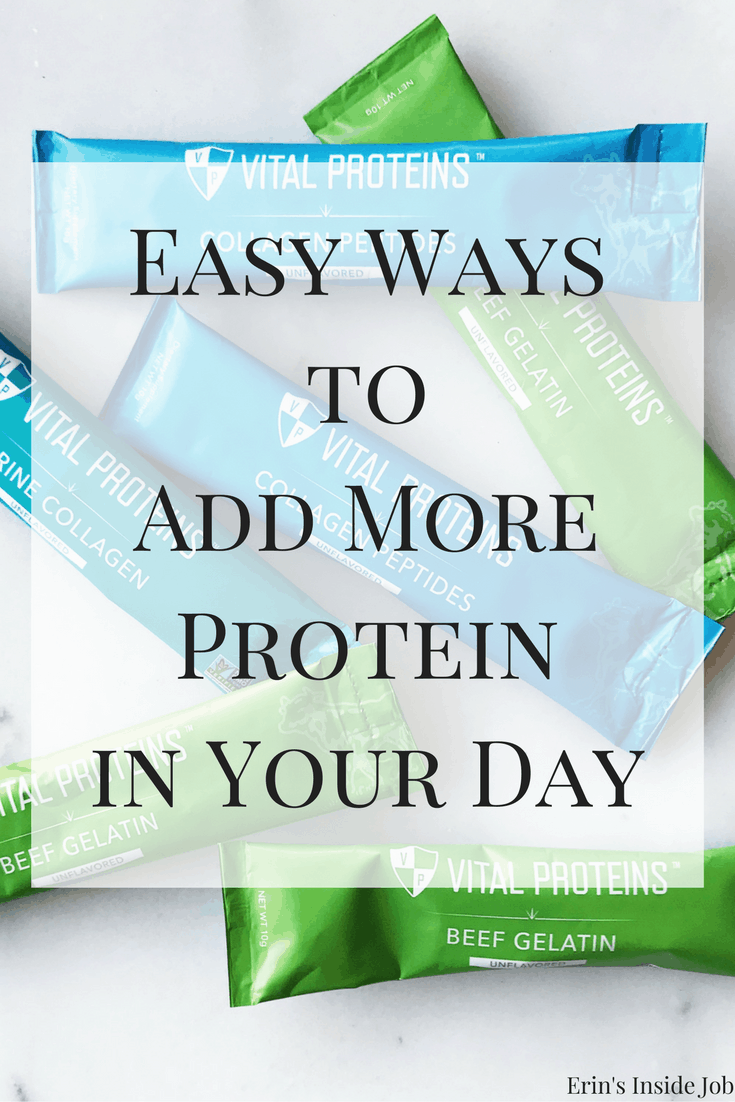 Easy Ways to Add More Protein in Your Day