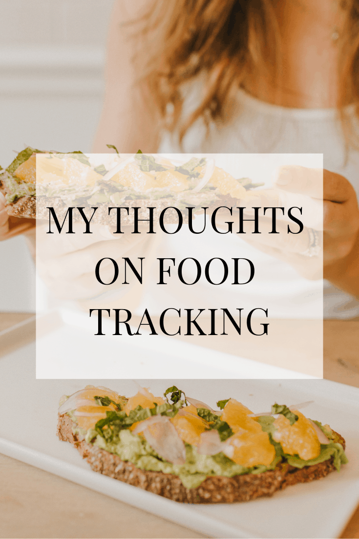 While it may be helpful for people to track food for losing weight or refining fitness goals, for me it was a slippery slope because of my previous disordered eating habits. Here are my thoughts on food tracking. #fitness #exercise # foodtracking #mealprep