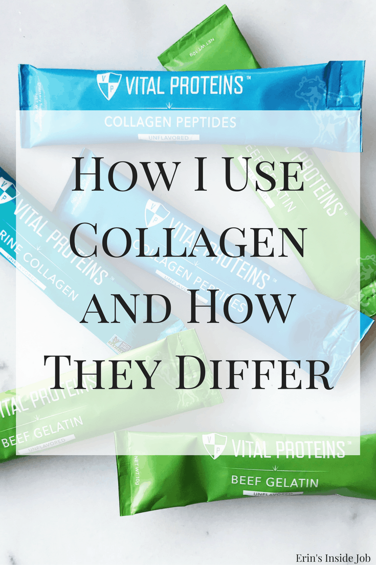 How I use collagen in my day and how each type differs in how it's sourced and what it does.