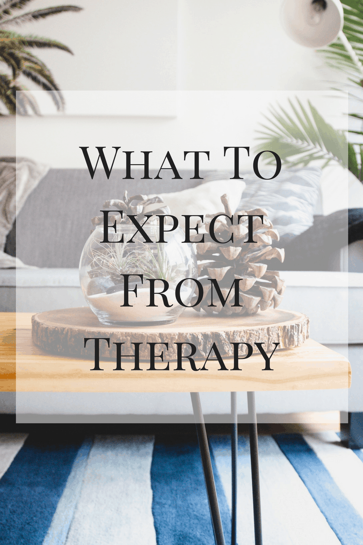 Some of the things I learned about what to expect from therapy. If you've considered going, but aren't sure what it'll mean, this post is for you!