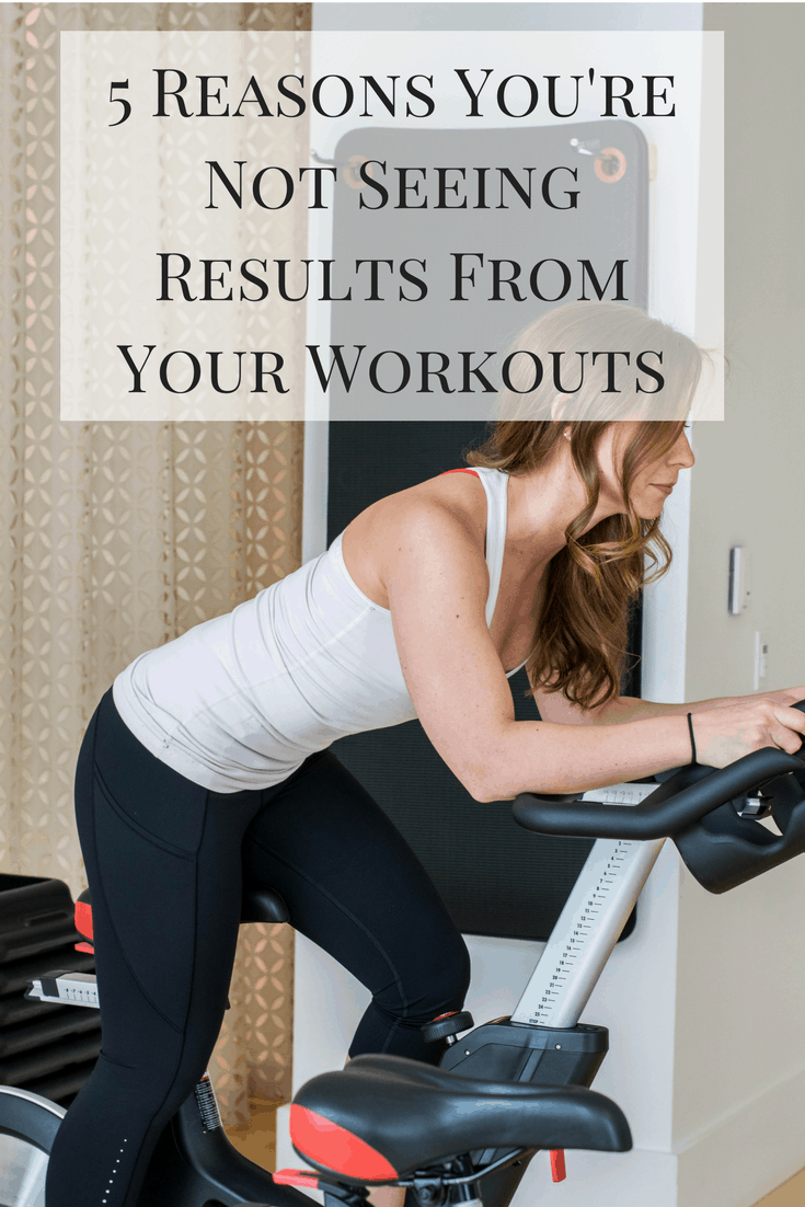 5 Reasons You're Not Seeing Results From Your Workouts