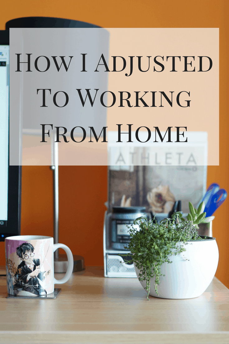 Working from home can be a dream or a nightmare. Here's how I adjusted to working from home and some tips that may help you out!