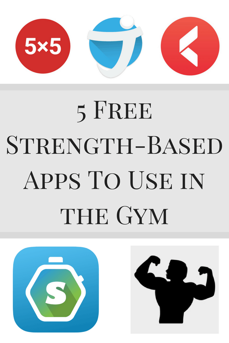 5 Free Strength-Based Apps To Use in the Gym