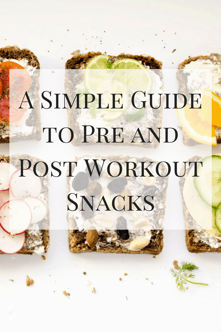 A Simple Guide to Pre and Post Workout Snacks