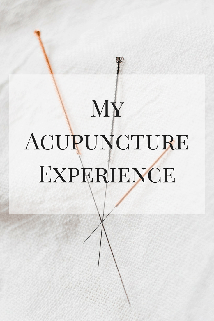 My Acupuncture Experience