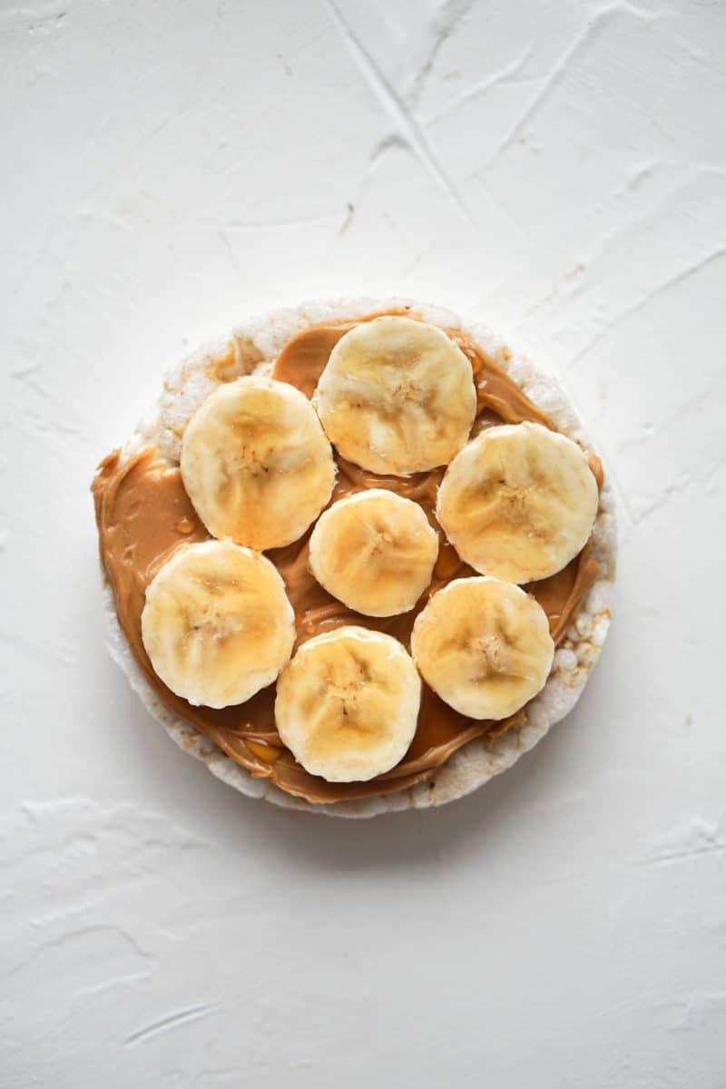 PB, Banana and Honey: Rice Cake Toppings