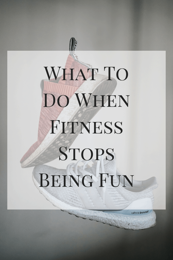 A look at some of the best things to do when fitness stops being fun. Try some of these tips the next time you find yourself in an exercise slump! #exercise #fitness #slump #workout