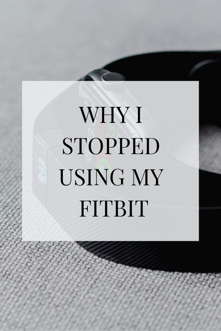 Fitness trackers are all the rage - but here's why I stopped using my Fitbit for tracking purposes. #exercise #fitness #tracker