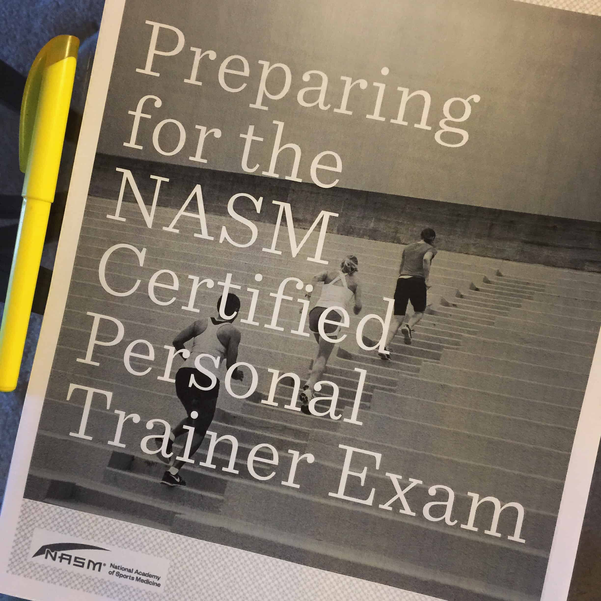 Passing The Nasm Certified Personal Training Exam Erins Inside Job