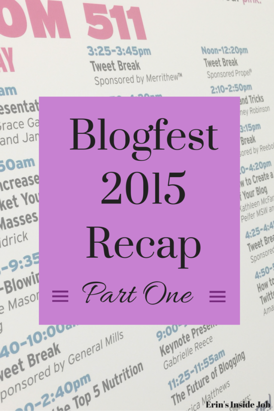 Blogfest 2015 Recap Part One