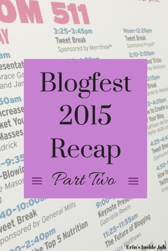 Blogfest 2015 Recap Part Two