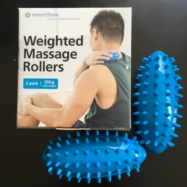 weighted massage rollers