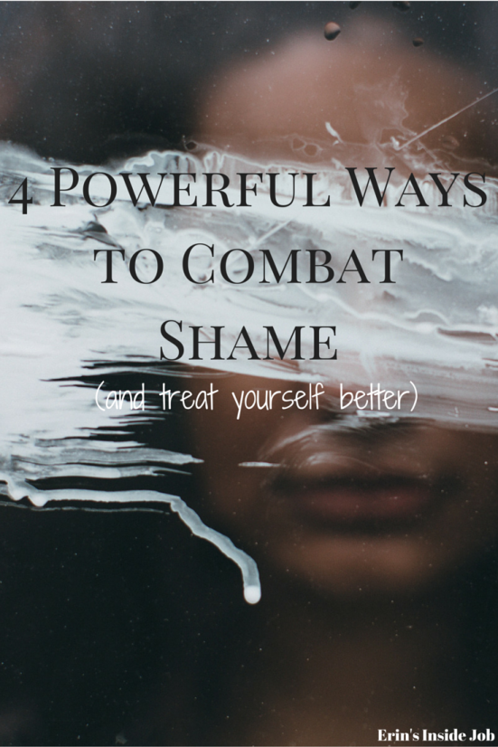 Is negative-self talk common behavior for you? Learn the difference between guilt and shame and try these 4 tips to help combat shame. Learn to treat yourself better.