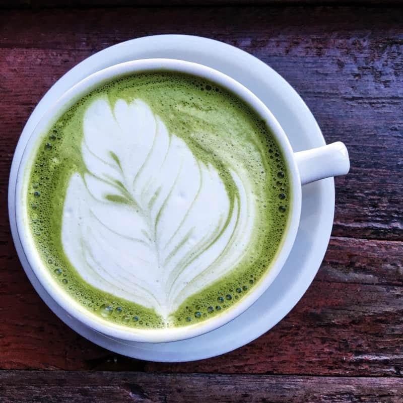 green tea latte sawada