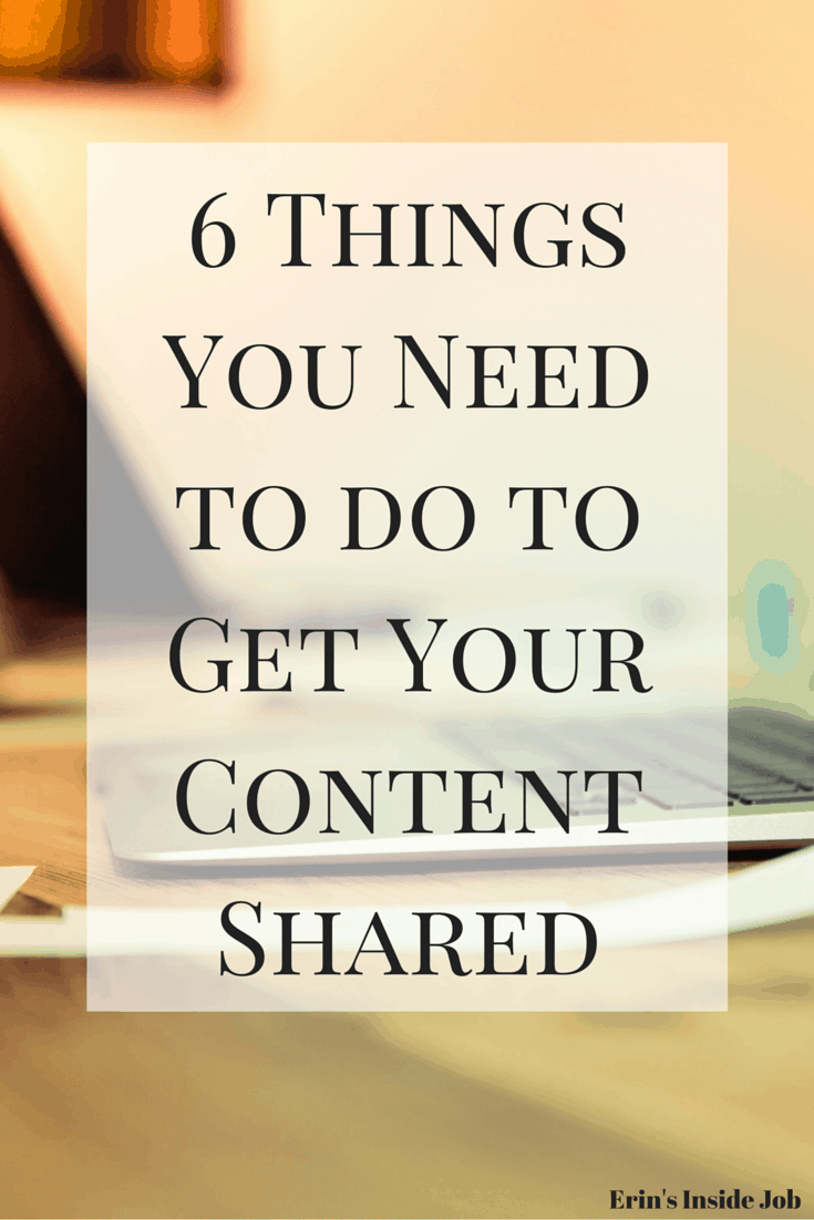 Check out these small changes you can do to make sure that people are able to easily share your content across different media channels!