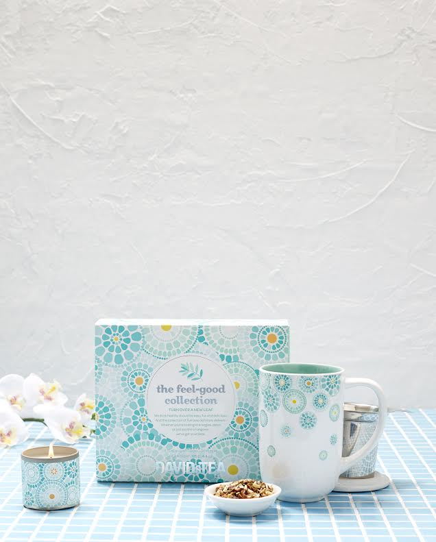Read all about the new Feel-Good Collection at DAVIDs TEA and enter for your own chance to win your own PLUS  a mug and candle!