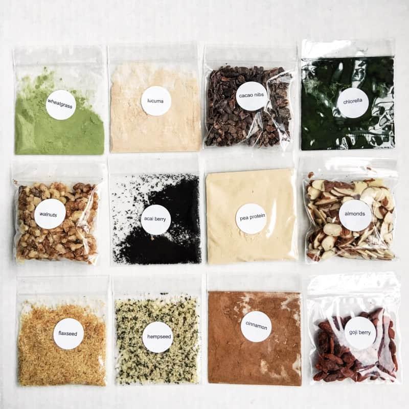 Green Blender superfoods