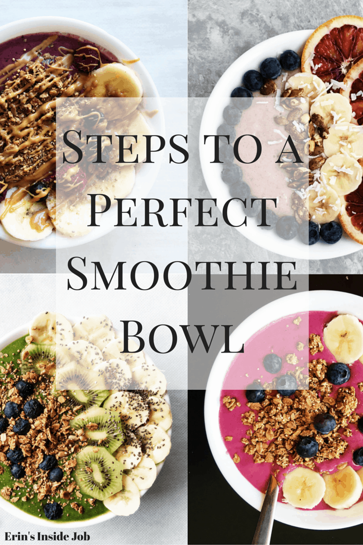 Making a smoothie bowl doesn't have to be an intimidating process. Follow these easy steps to get you creating recipes in no time!