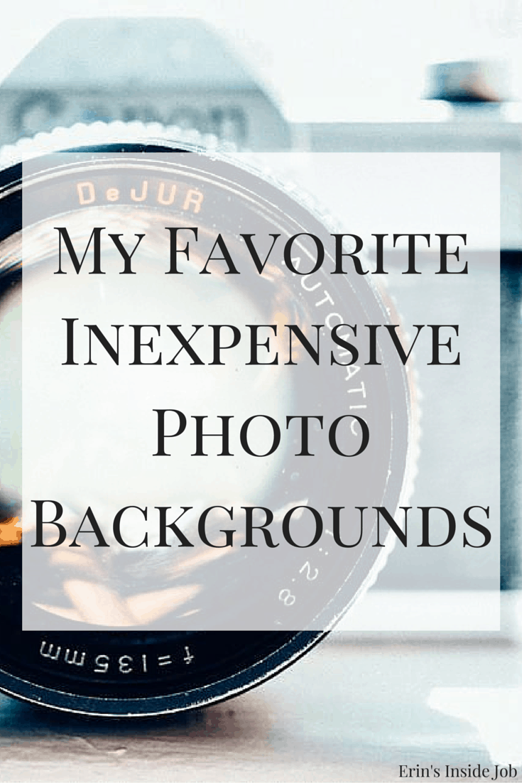 A look at the props and backgrounds I use to make my photos look professional. All SUPER cheap and SUPER accessible!