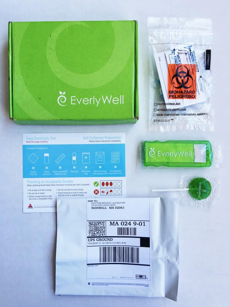 EverlyWell Testing Kit