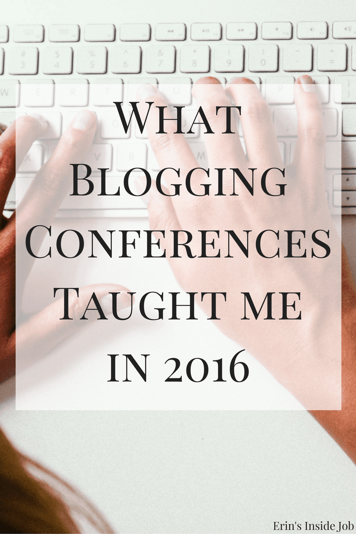 The blogging sphere changes every year, so here is what I took away from two blogging conferences and what they taught me in 2016.