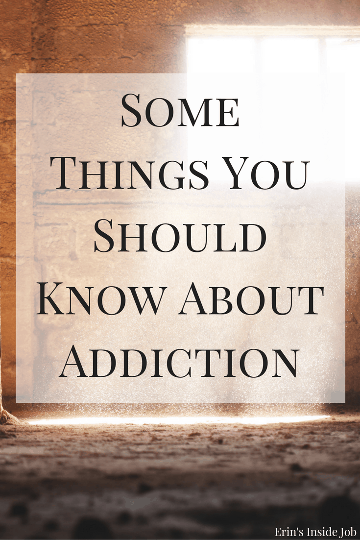 Many people are affected by addiction. As family or friends of addicts, here are some things you should know about addiction from someone in recovery. #mentalhealth
