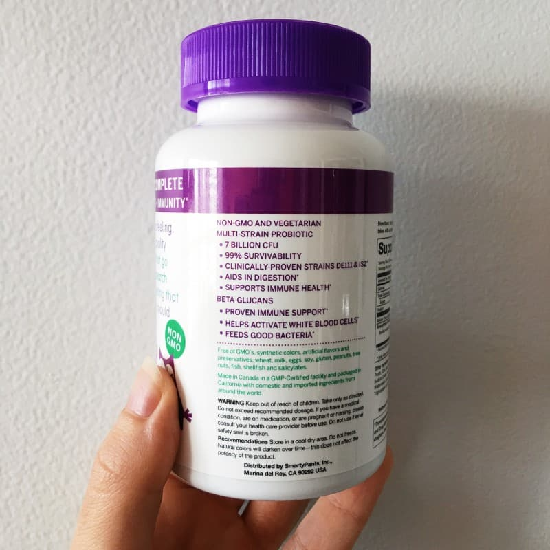 Smarty Pants Probiotics 2