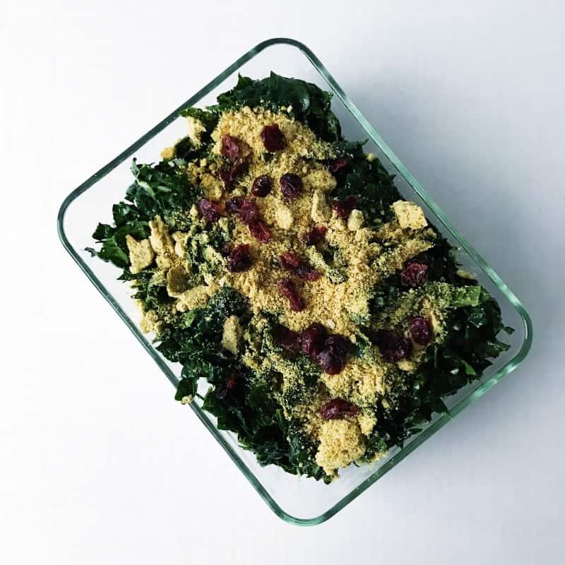 Oh She Glows Best Shredded Kale Salad