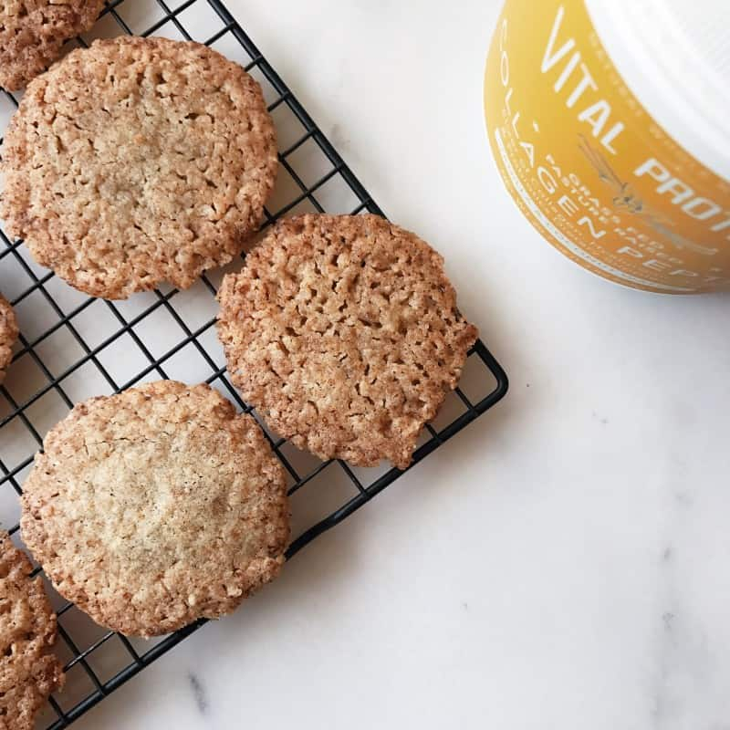 Vanilla Almond Butter cookies