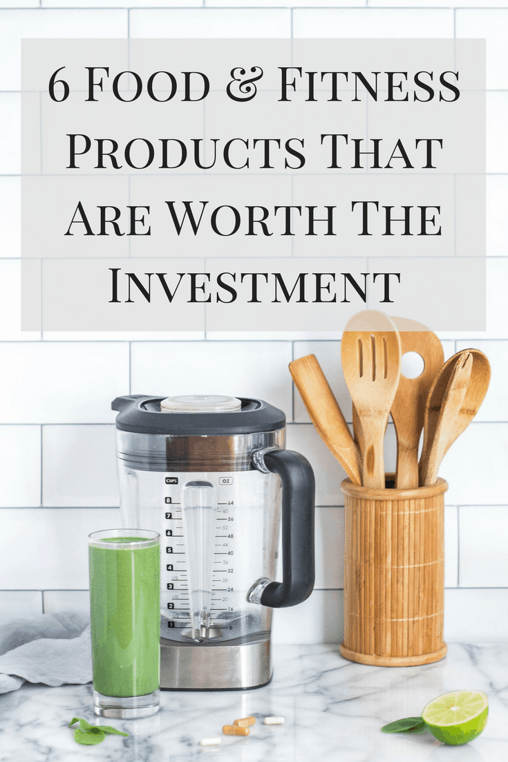 You don't have to spend a fortune on healthy living! Here are some food and fitness products that are worth the investment!