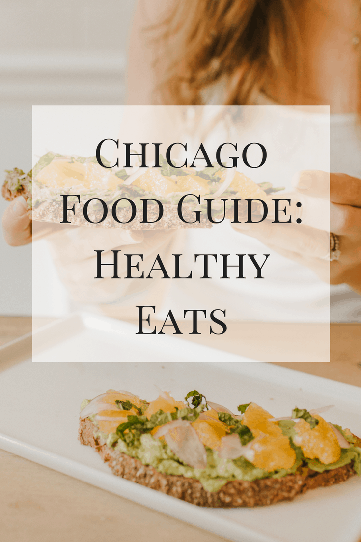 Part one of my Chicago food guide - healthy eats! Here is a lit of my favorite healthy food spots in Chicago!